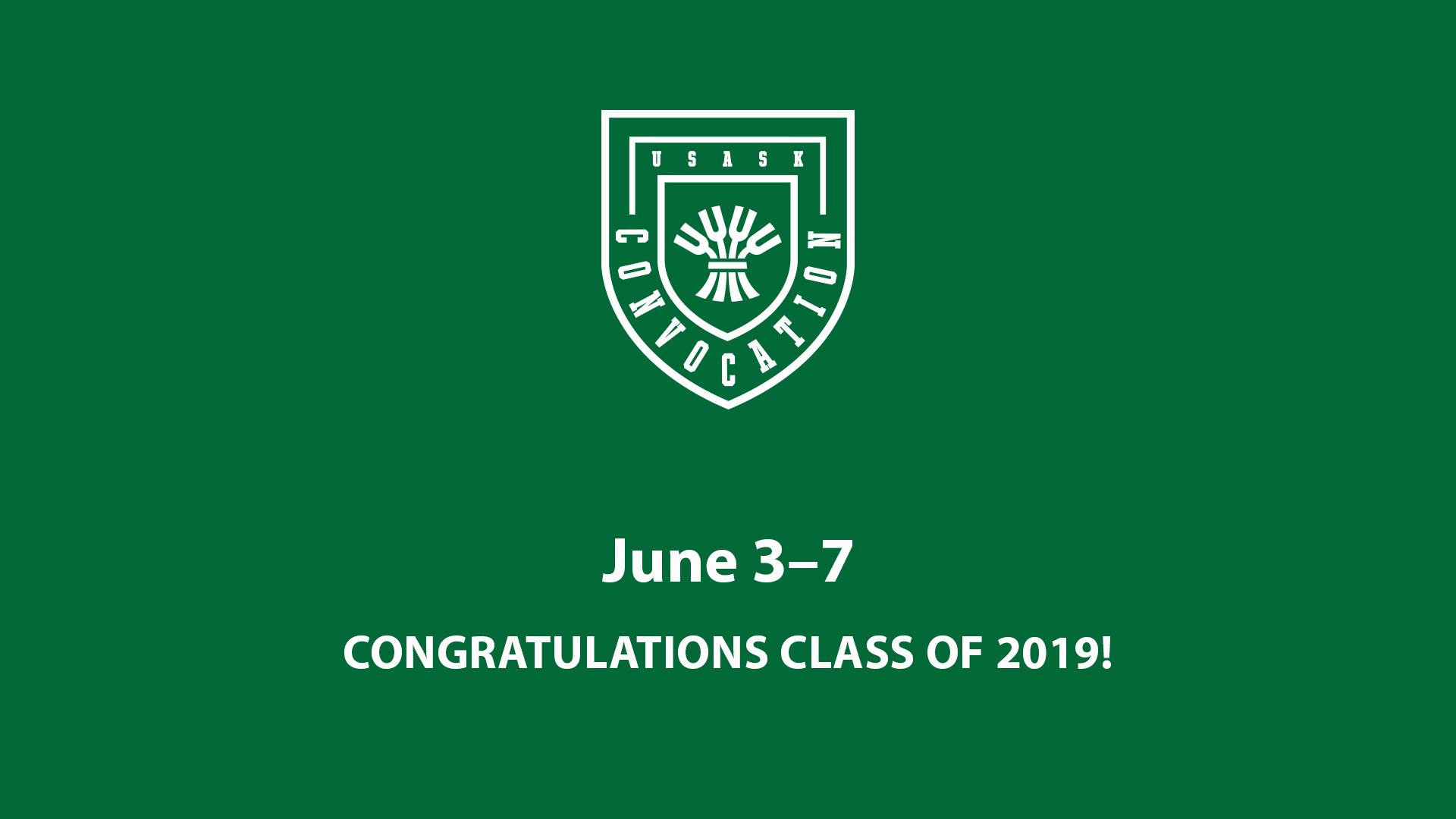Graduation and Convocation - Students - University of Saskatchewan